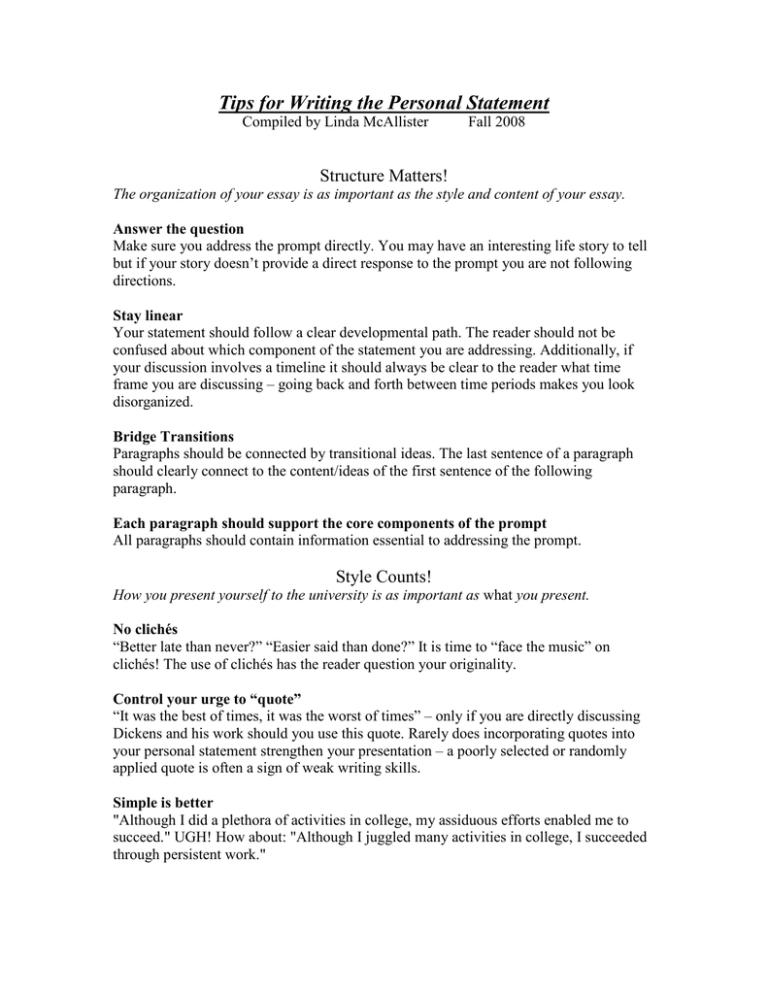 Personal statement prompts 2013 b pharm resume models