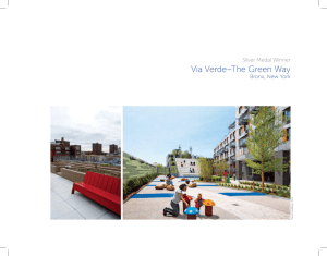 Via Verde–The Green Way - Rudy Bruner Award for Urban Excellence