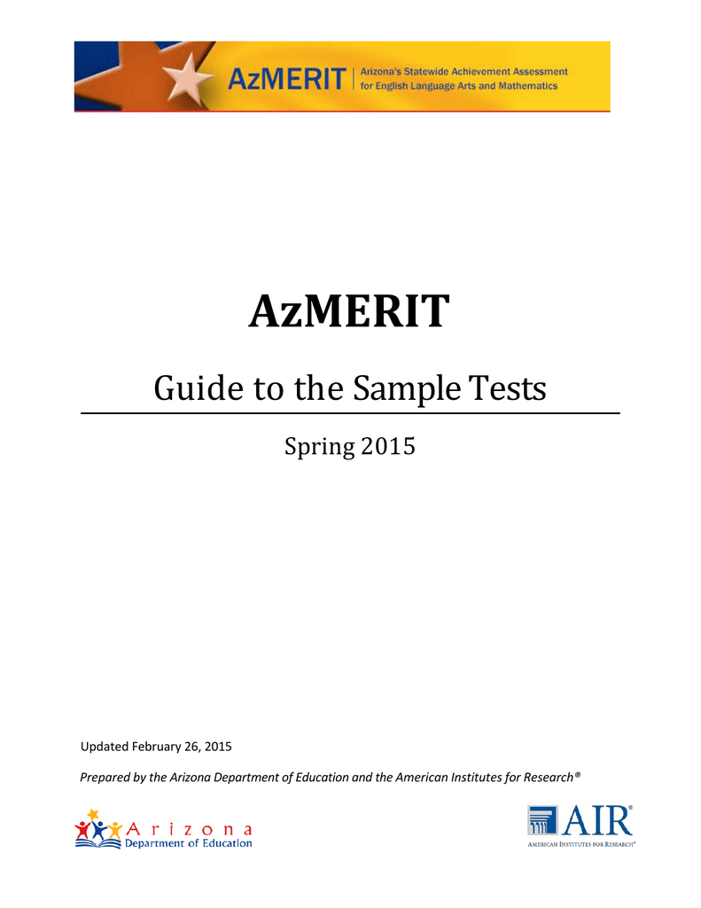photograph regarding Azmerit Printable Practice Test named AzMERIT Expert in direction of Pattern Assessments