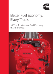 Better Fuel Economy. Every™ Truck.
