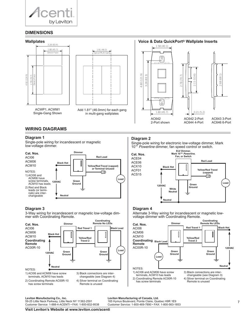wiring diagrams dimensions  studylib