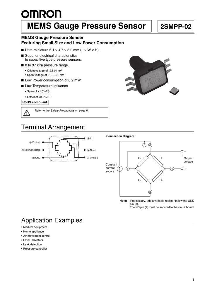 MEMS Gauge Pressure Sensor on