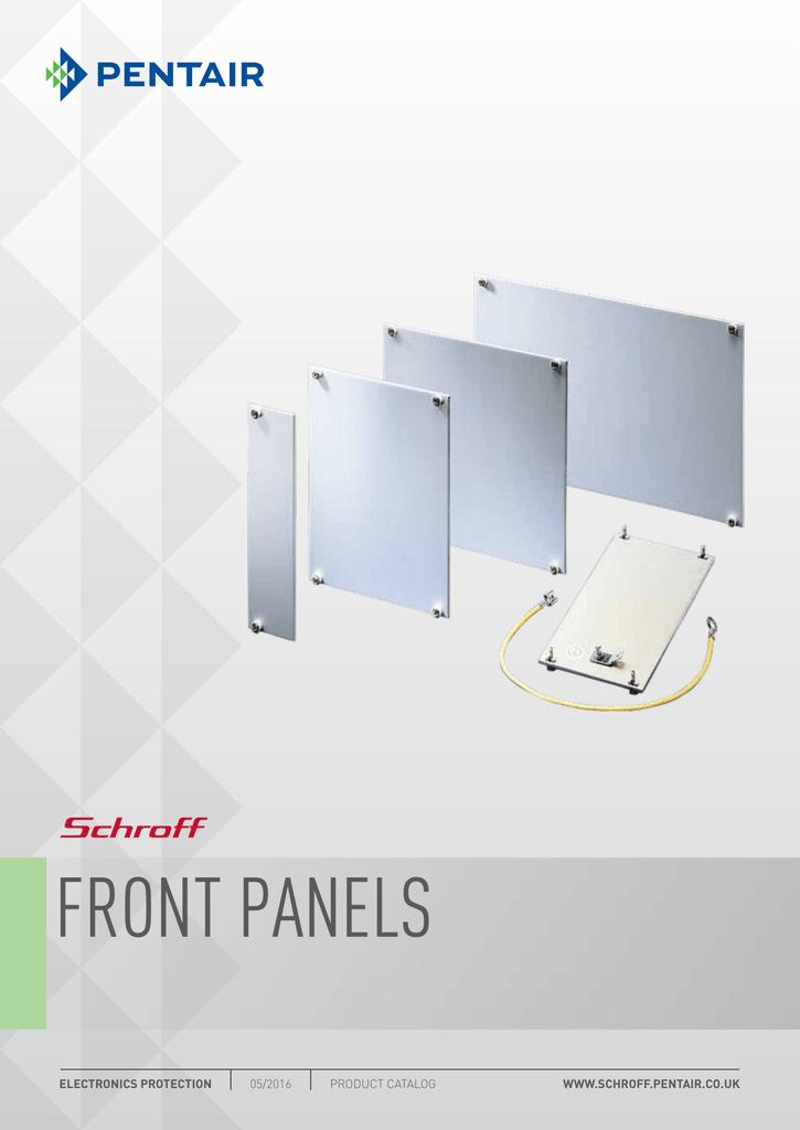 128.4 mm Front 60.6 mm Aluminium Enclosures Panel