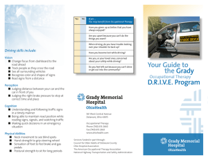 Your Guide to the Grady DRIVE Program