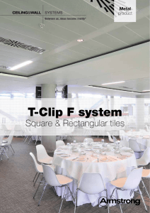 T-Clip F system
