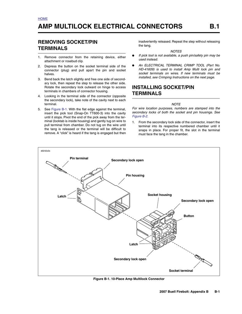 b 2 deutsch electrical connectors