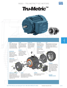 index – tru-metric™ iec motors