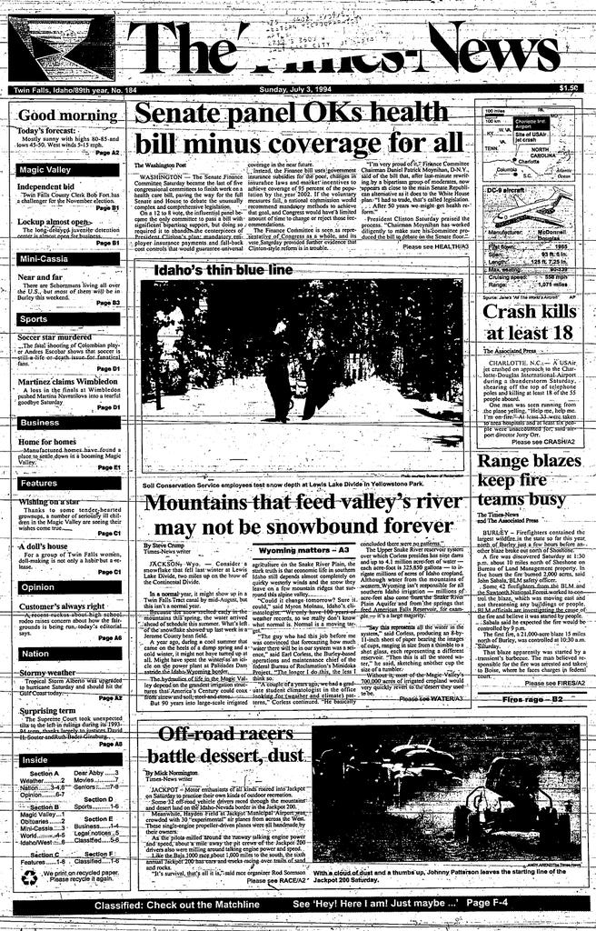 M - Twin Falls Public Library Newspaper Archive