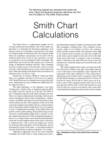 Smith Chart Calculations