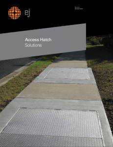 Access Hatch Solutions Brochure