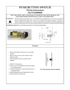 push button switch - Raritan Engineering
