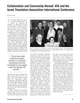 ATA April-bi-REV.qxd - American Translators Association