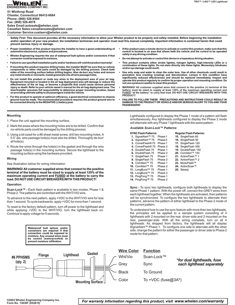 Whelen Communication Wiring Diagram. . Wiring Diagram on