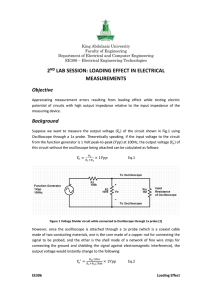 loading effect in electrical measurements
