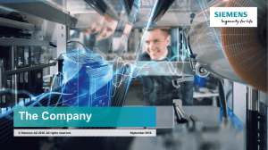 Siemens 2016 - employer of choice and reliable partner