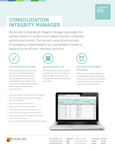 consolidation integrity manager