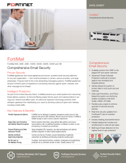 FortiMail - Fortinet