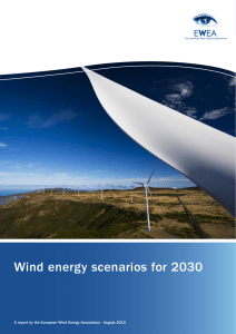 Wind energy scenarios for 2030