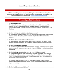 Frequently Asked Questions - H-E-B