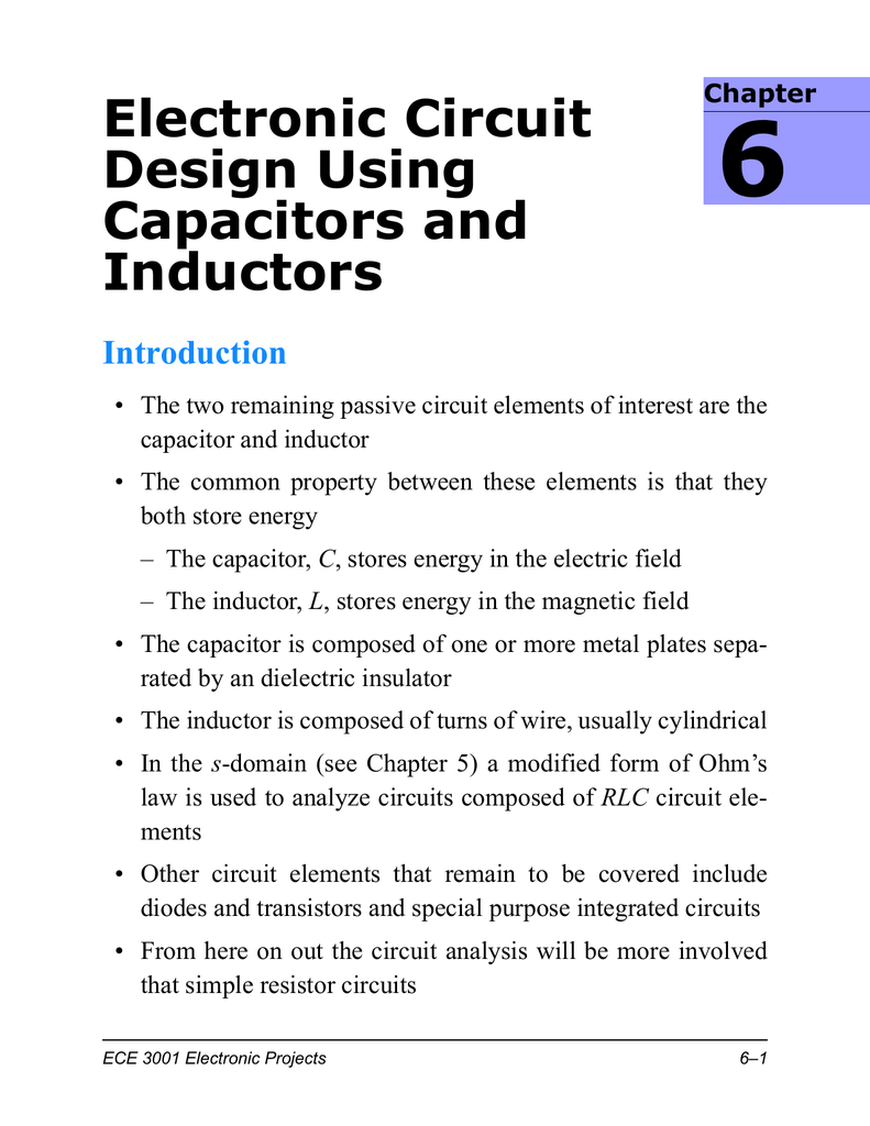 Electronic Circuit Design Using Capacitors And Inductors Projects 018161163 1 52d14b55ab4558e1944f98e3ed4b5271