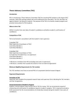 Curriculum Information (PhD Programme in Integrated Biostatistics and Bioinformatics)