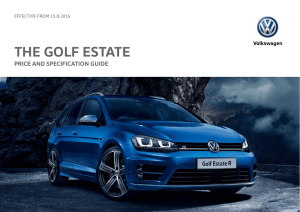 Golf Estate price list