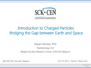 Introduction to Charged Particles: Bridging the Gap