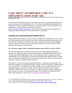 faqs about affordable care act implementation (part xii)