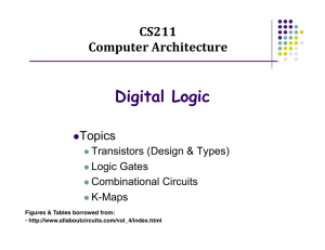 Digital Logic - Computer Science at Rutgers