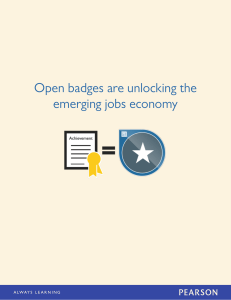Open badges are unlocking the emerging jobs economy