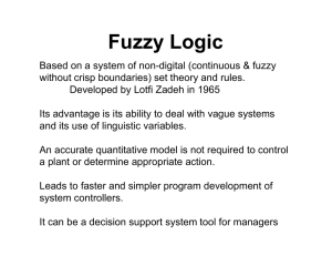 Fuzzy Logic Example