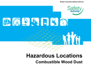 Hazardous Locations - BC Safety Authority