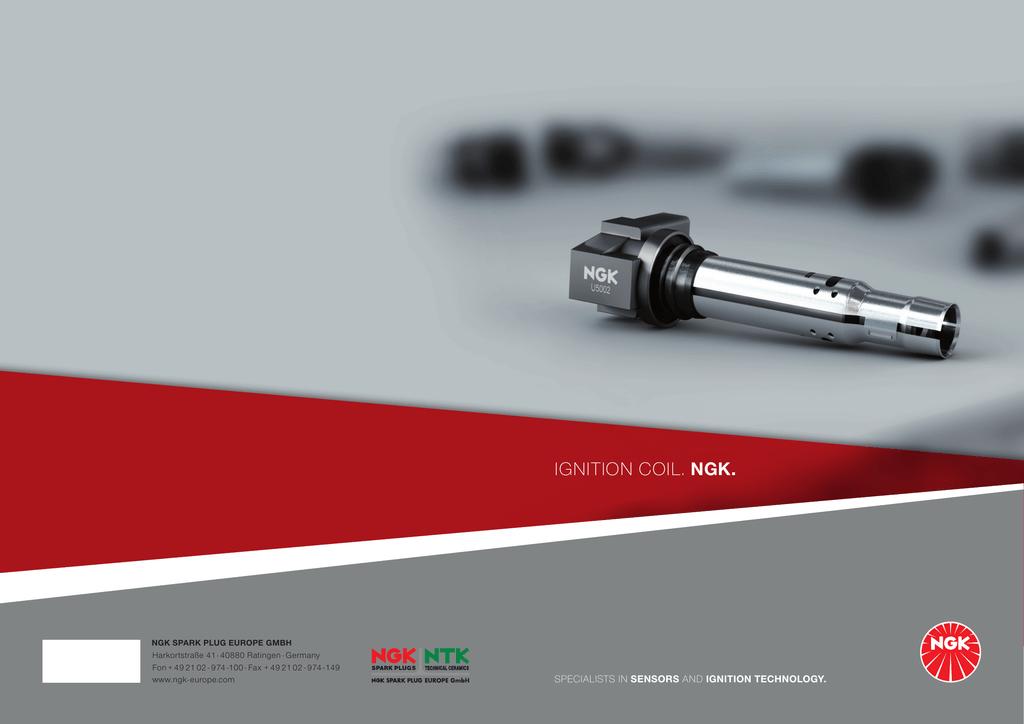 Brochure NGK Ignition Coil