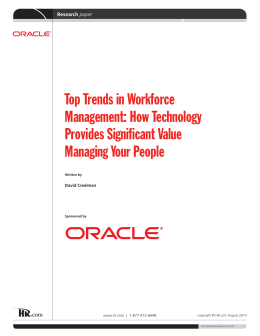 Top Trends in Workforce Management: How Technology