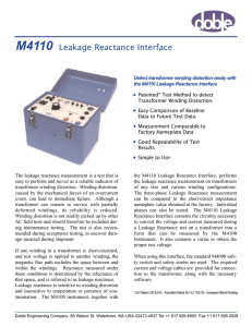 Leakage Reactance Interface