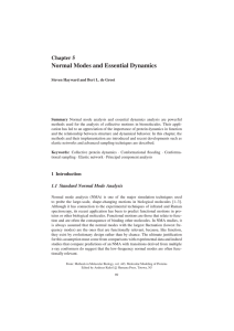 Normal Modes and Essential Dynamics