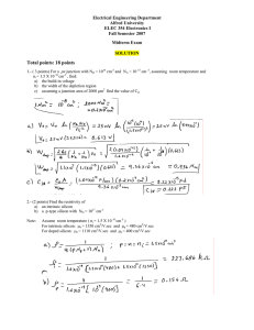 Midterm Exam answers ()