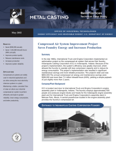 Compressed Air System Improvement Project