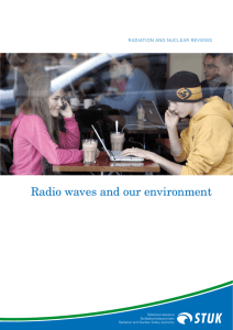 Radio waves and our environment