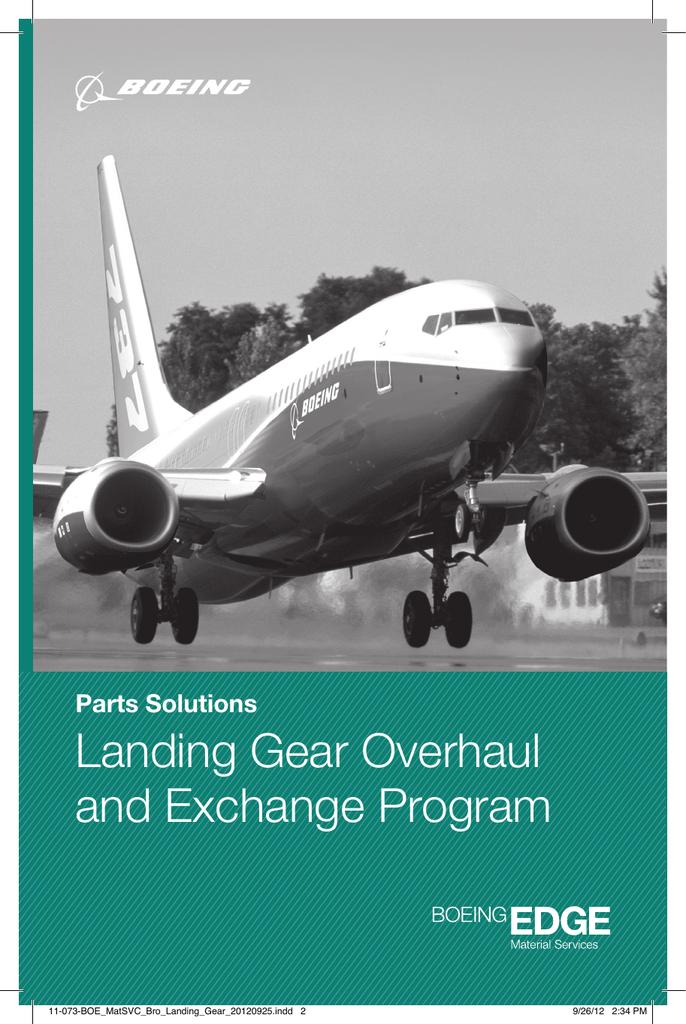 Landing Gear Overhaul and Exchange Program