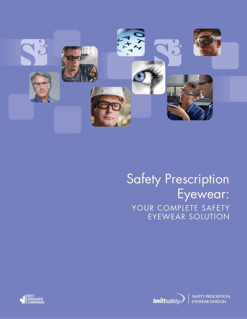 36c148d2eaa Safety Prescription Eyewear - Levitt