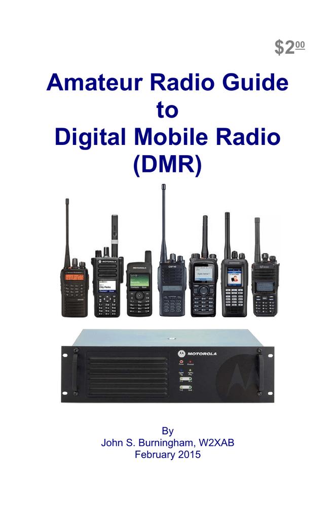 Amateur Radio Guide to Digital Mobile Radio (DMR)