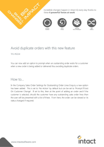 Avoid duplicate orders with this new feature How to…