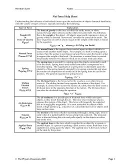 work external physics classroom worksheet answers. Black Bedroom Furniture Sets. Home Design Ideas