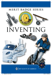 Inventing - Boy Scouts of America