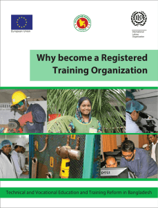 Why become a Registered Training Organization