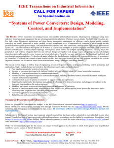 Systems of Power Converters: Design, Modeling, Control, and