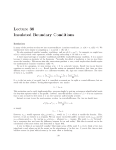 Lecture 38 Insulated Boundary Conditions
