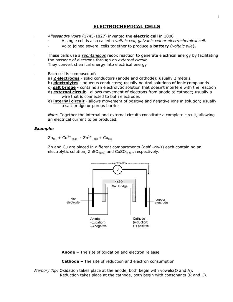 worksheet Electrochemical Cell Worksheet 018171954 1 35c0d4e7e0933ac4ead5c024de0c63ff png