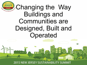 Changing the Way Buildings and Communities are Designed, Built